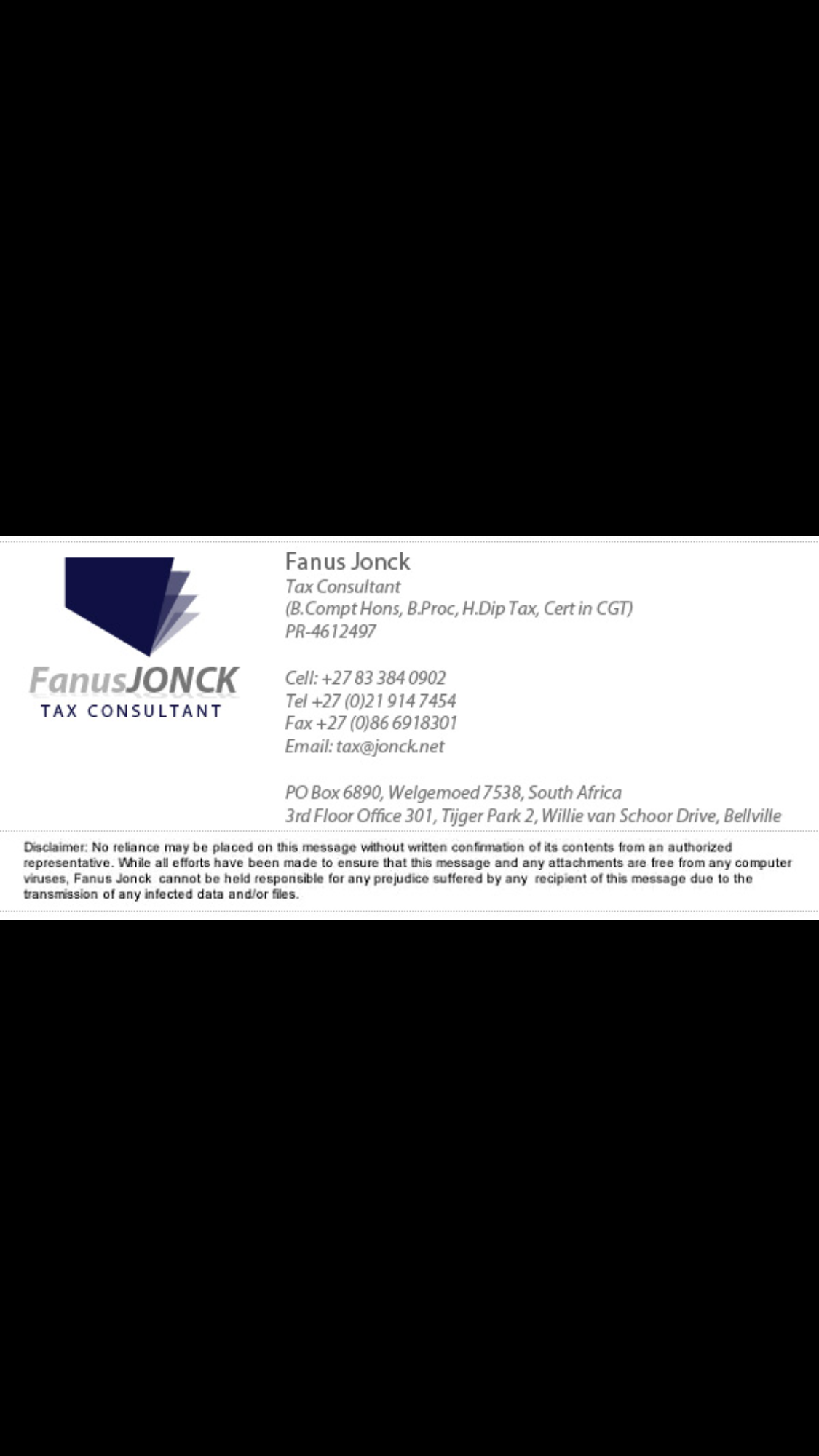 Fanus Jonck is exceptionally knowledgable when it comes to dealing with Foreign property transactions ...  contact him with any queries ... Tax@jonck.net 021 9147454